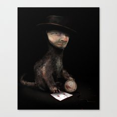 Charles the cat Canvas Print