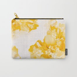 Beautiful Peony Flowers White Background #decor #society6 #buyart Carry-All Pouch