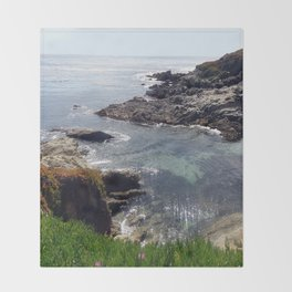 California Coast 03 Throw Blanket
