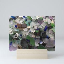 Sea Glass Assortment 3 Mini Art Print