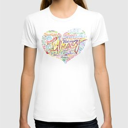 Library Heart T-shirt