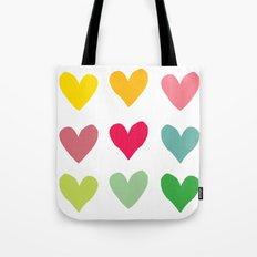 Heart pattern art  Tote Bag