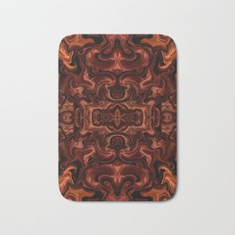 Chocolate absract Bath Mat