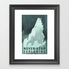 NSE Framed Art Print