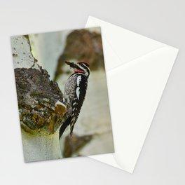 Grand Tetons Woodpecker - Grand Teton National Park Stationery Cards