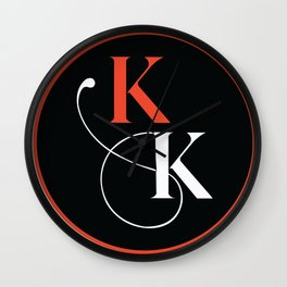 KK Circle Wall Clock