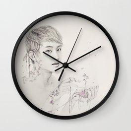 Portrait of Plants Wall Clock