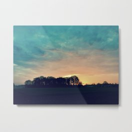 Nature moments in the morning Metal Print
