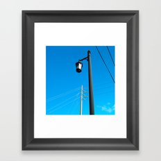 #ABSTRACT VIEW @KEY WEST USA by Jay Hops Framed Art Print