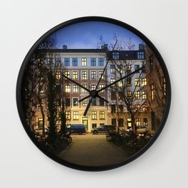 streets of Vesterbro pt.1 Wall Clock