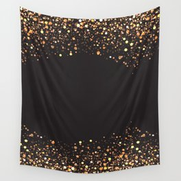 Black and gold #society6 Wall Tapestry