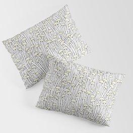 Enokitake Mushrooms (pattern) Pillow Sham