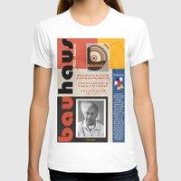 bauhaus T-shirts featuring Bauhaus Poster by ThatGeorgeGuy