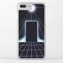 Enter Our World Clear iPhone Case