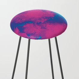 Cotton Candy Acid Trip Counter Stool