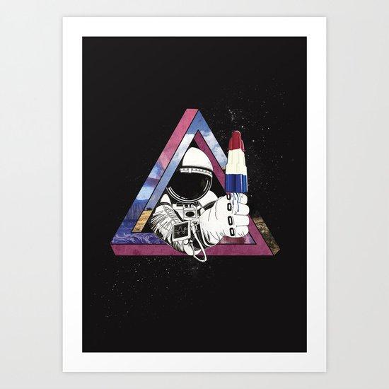 Freakanaut Art Print