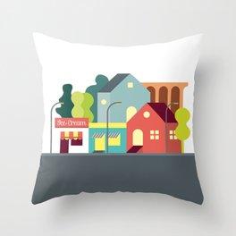 ModuLand Throw Pillow