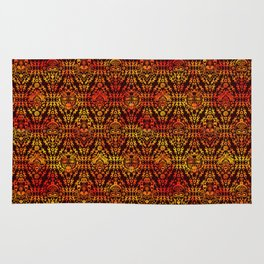 Afican Mask pattern Rug