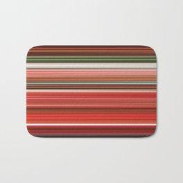 Broken Hearted Azaleas - Striped Bath Mat