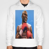 floyd Hoodies featuring FLOYD 'Money' MAYWEATHER by MAiJiN.THE ARTIST