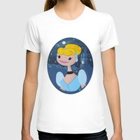 cinderella T-shirts featuring Cinderella by Lady Eve