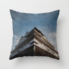 Osaka-jo Throw Pillow