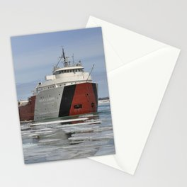 Philip R Clarke freighter Stationery Cards