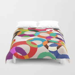 Loop Hoop Duvet Cover