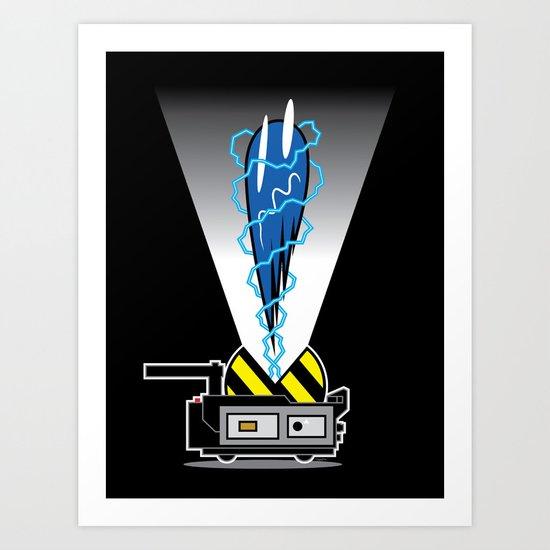 Pac-Trap Art Print