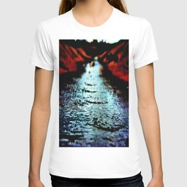Red shores T-shirt