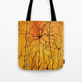 Neural Activity (An Ode to Cajal) Tote Bag