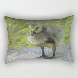 Little Gosling Rectangular Pillow