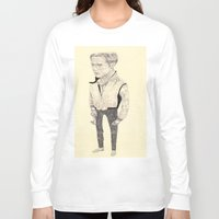 ryan gosling Long Sleeve T-shirts featuring Ryan Gosling by withapencilinhand