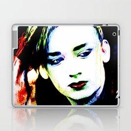 Boy George - Karma Chameleon - Pop Art Laptop & iPad Skin