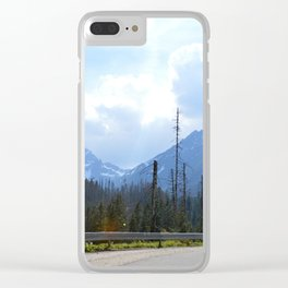 The Walk to Morskie Oko Clear iPhone Case