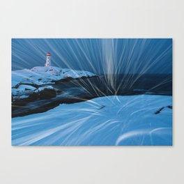 Whipping Winds Canvas Print