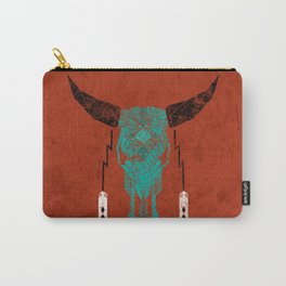 Southwest Skull Carry-All Pouch