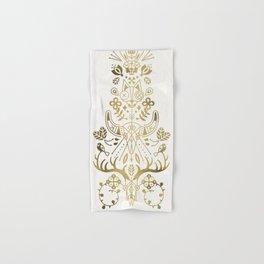 La Vie & La Mort – Gold Palette Hand & Bath Towel