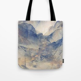 Tulle Mountains Tote Bag