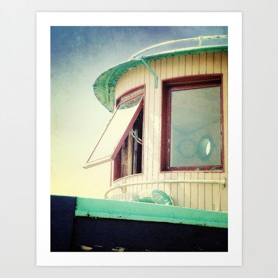 Miss Charlott II Art Print