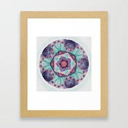 Egyptian Lotus 5 Star Framed Art Print