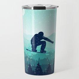 Snowboard Skyline II Travel Mug