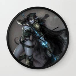 Drow Ranger Wall Clock