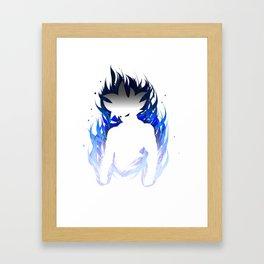 Ultra Instict Goku Saiyan Framed Art Print