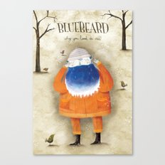 Bluebeard Canvas Print
