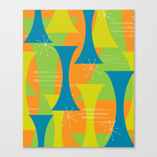 Mod Motion Canvas Print