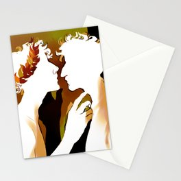 Achilles and Patroclus - Richard Siken Stationery Cards