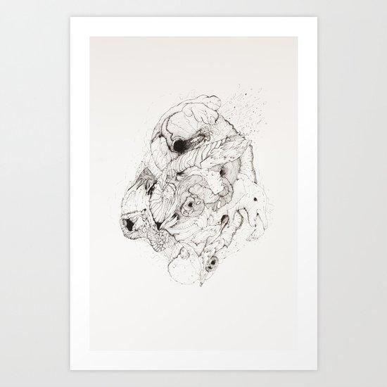 Organic Art Print