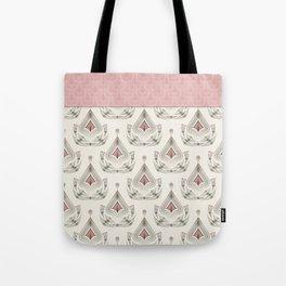 Geometric pattern . Colorful art Deco . No. 60, Tote Bag