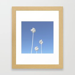 Los Angeles Palms Framed Art Print
